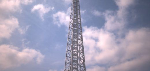 3d modell of Yokohama Marine Tower