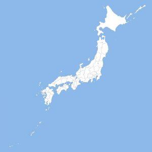 Japan Spline Map