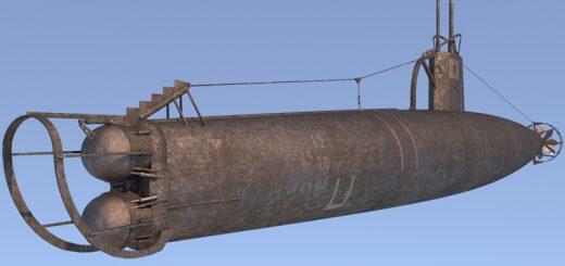 3D Submarine Ko-Hyoteki
