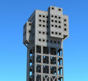 The Shime Mine Tower