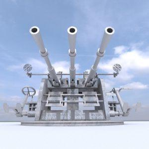 Anti aircraft gun 25 mm Type 96